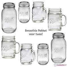 Smoothie Pakket voor Twee! | MASON JARS | Ditwilikhebben.nl