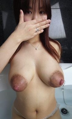 Asian big tits puffy nipples