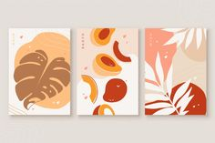 Abstract Hand Drawn Shapes Covers