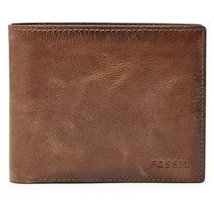 Fossil Derrick Rfid Large Coin Pocket Bifold Ml3687200 Wallet (945 ARS) ❤ liked on Polyvore featuring men's fashion, men's bags, men's wallets, fossil mens wallet, bi fold mens wallet, mens bifold wallets and mens coin wallet
