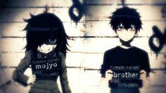 I'm... Kuro Haru desu~ — WataMote - Kuroki Tomoko and Kuroki Tomoki