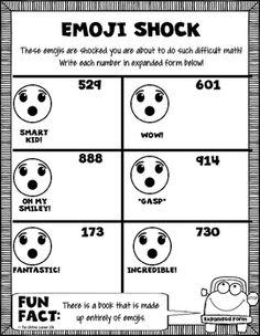 Mood Tone Worksheets Pdf Fifth Grade Emoji Math  Math Worksheets And Math Skills Identifying Types Of Reactions Worksheet Pdf with Mixed Operations Fractions Worksheet Word Second Grade Emoji Math Comes With  Worksheets Filled With Emoji Fun W 4 Worksheet Pdf