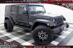 eBay: 2013 Jeep Wrangler Sport ONE OWNER!! UPGRADED WHEELS AND TIRES!! LOW MILES!! 4X4 UNLIMITED… #jeep #jeeplife usdeals.rssdata.net