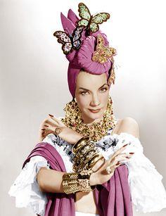 Carmen Miranda. www.ludmilanavarro.com
