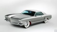 1963 Silver Arrow I based on Buick Riviera
