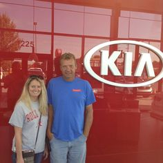 Thank you Scott and Angela for coming to Lawrence Kia for your Chrysler 200 with a Free Lifetime Warranty! - Christopher Pena