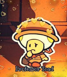 Paper Mario, Feeling Loved, Toad, Mario Bros, Bart Simpson, Cry, Videogames, Origami, Nintendo
