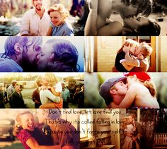 The Notebook ♥ I love movies by Nicholas Sparks =)