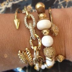 Arm Party ideas from spring Collection http://www.stelladot.com/Randimanning
