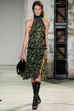 Proenza Schouler Spring 2013 Ready-to-Wear Fashion Show - Kayley Chabot