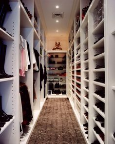 I would kill for a closet like this!