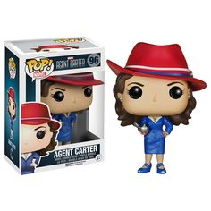 Marvel Pop! Vinyl Bobblehead Agent Carter
