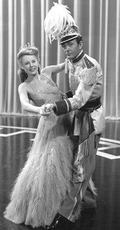 June Allyson & Robert Walker