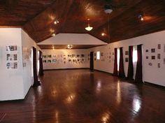 Marfa, TX: The ballroom in Building 98