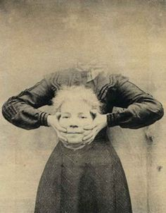 Weird Headless Victorian Photographs