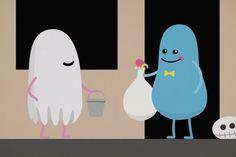 Personagens de 'Dumb Ways to Die' estao de volta para o Dia das Bruxas – assista aqui