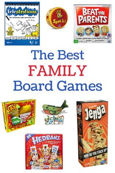 These are the best family board games for families with kids of all ages - tried, tested, and recommended by my family of six.