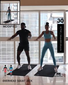 A full body HIIT workout — no equipment required Improve heart health, increase fat loss and strengthen and tone your muscles . Fitness Workouts, Hiit Workout Videos, Full Body Hiit Workout, Cardio Workout At Home, Gym Workout For Beginners, Gym Workout Tips, Fitness Workout For Women, Sport Fitness, Body Fitness