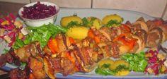 Gosia gotuje: Szaszłyki z papryką w orientalnej marynacie