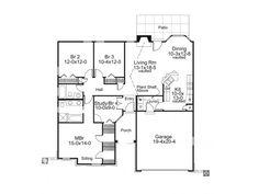 Love this floor plan!! 1500 sq. ft.