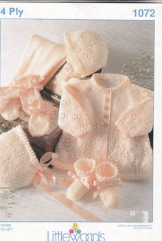 1072 Littlewoods Knitting Pattern Baby Pram by MadelainePatterns, #afs collection
