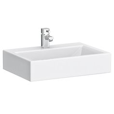 The stylish nature of the Rectangular Counter Top Ceramic Basin will transform contemporary bathrooms. In stock online at Victorian Plumbing.co.uk now.