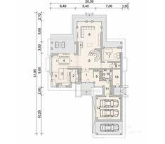 Projekt domu LK&1386 Diagram, Floor Plans, House, Home, Haus, Floor Plan Drawing, Houses, House Floor Plans