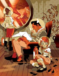 Tomer hanuka Illustration