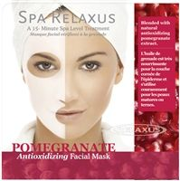 Spa Relaxus - Pomegranate Oil Facial Mask - PPK of