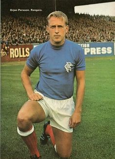 Orjan Persson of Rangers in Rangers Football, Rangers Fc, Football Team, English Football League, Retro Football, Football Pictures, Great Team, Glasgow, My Photos