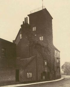 Canonbury Tower, Islington, 1879. This photograph was commissioned by the Society for Photographing Relics of Old London to form part of a p...