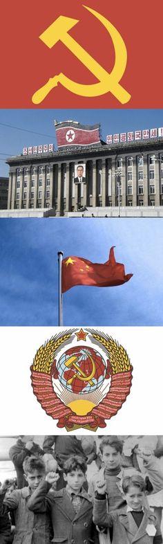 Cinque simboli comunisti e il loro significato