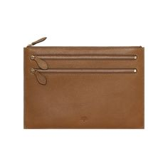 Mulberry - Multizip Pouch in Oak Natural Leather (I came when I saw this e2690bfc86a00