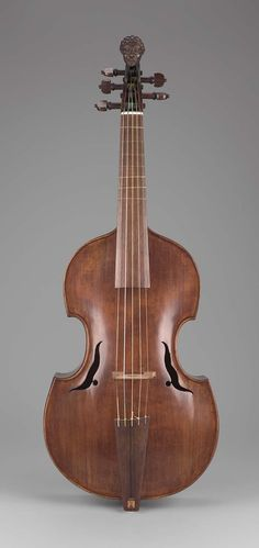 Tenor viola da gamba (?) 1725–50 Attributed to Johann Joseph Elsler (German, died in 1747 German) Museum of Fine Arts, Boston