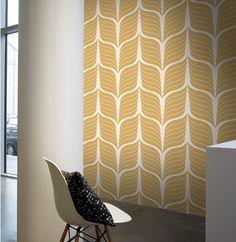 Wallpaper Cocoa from Josephine Collection by Lavmi Funky Wallpaper, Modern Wallpaper Designs, Wallpaper Ideas, Cocoa, Scandi Home, Interior Decorating, Interior Design, Stone Tiles, First Home