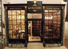 Windsor Antiques and Rare Book Shop [Windsor] - $8,500.00 : De Cave Design, in Miniature