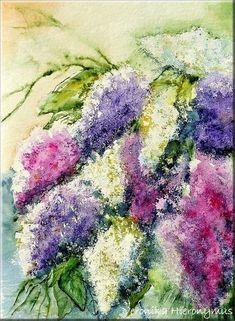 Blumen&Gewächs - Vero Fineart - Malerei in Aquarell, Acryl, Mixed Media