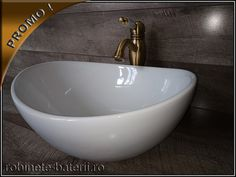 Lavoar oval Reina pe blat sau mobilier Minimalism, Sink, Bathtub, Home Decor, Sink Tops, Standing Bath, Vessel Sink, Bathtubs, Decoration Home