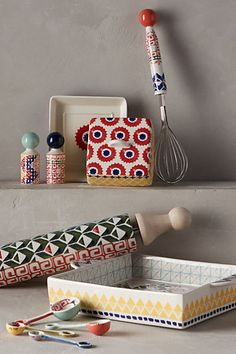 Handpainted Atoll Tableware #anthrofave #anthropologie.com