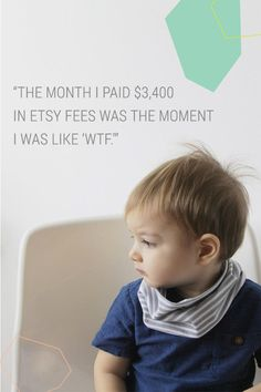 "Outgrowing Etsy: The month I paid $3,400 in Etsy fees was the moment I was like ""WTF"""