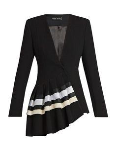 Shop our edit of women's designer Jackets from luxury designer brands at MATCHESFASHION Hijab Fashion, Girl Fashion, Fashion Dresses, Womens Fashion, Suits For Women, Women Wear, Clothes For Women, Mode Batik, Black And White Jacket