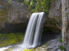 Tamanawas Falls by Cooper Franklin on 500px 2 mile hike to this