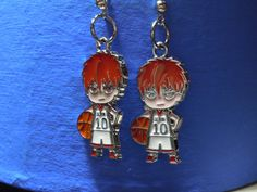 Anime Kuroko No Basket Kagami Taiga Kagami Earrings by laminartz