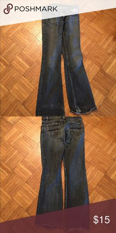 Express jeans in good condition These jeans are in good condition and are perfect for going out in Express Jeans Flare & Wide Leg