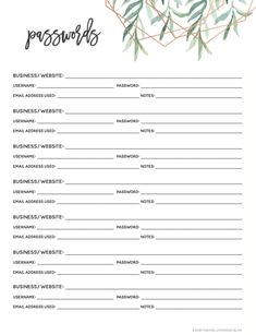Get Organized with our Free Printable 2019 Planner! - Making Lemonade