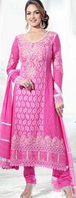 Rs. 250 OFF On Esha Deol Designer Anarkali Suit At Shoppystar