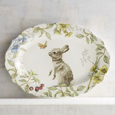 Sofie the Bunny Platter | Pier 1 Imports