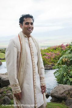 Groom Fashion. Sherwani