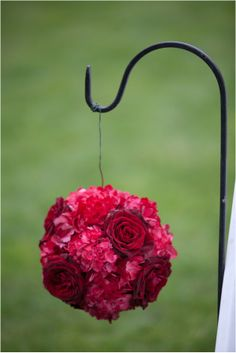 Red and Black Elegant Wedding by Abbey Domond Photography