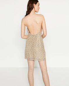 Image 4 of LACE DRESS from Zara